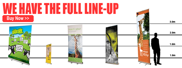 Wide Range of Roller Banners